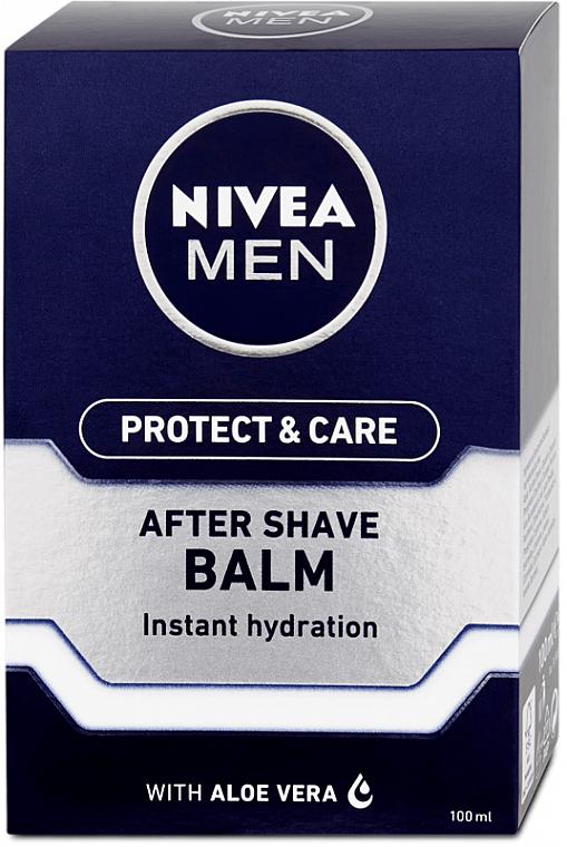 Feuchtigkeitsspendender After Shave Balsam - Nivea Men Prtotect & Care Moisturizing After Shave Balm
