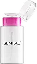 Düfte, Parfümerie und Kosmetik Dispenser mit Pumpe leer 150 ml - Semilac