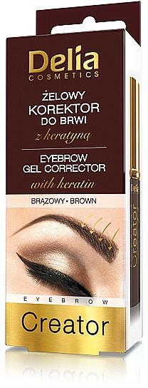 Augenbrauengel - Delia Cosmetics Eyebrow Gel