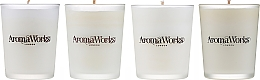 Düfte, Parfümerie und Kosmetik Duftset - AromaWorks Signature Range Candle Boxed Set (Duftkerze 4x75g)