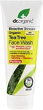 Düfte, Parfümerie und Kosmetik Gesichtsreinigungsgel mit Teebaumextrakt - Dr. Organic Tea Tree Face Wash