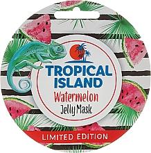 Düfte, Parfümerie und Kosmetik Gelee-Maske für das Gesicht mit Wassermelone - Marion Tropical Island Watermelon Jelly Mask