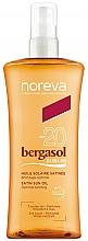 Düfte, Parfümerie und Kosmetik Sonnenschutzöl für den Körper SPF 20 - Noreva Laboratoires Bergasol Sublim Satiny Sun Oil SPF20