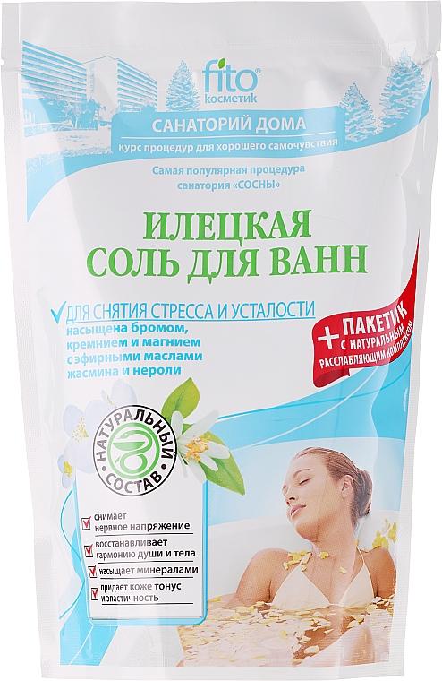 Badesalz Iletsk gegen Stress und Müdigkeit - Fito Kosmetik