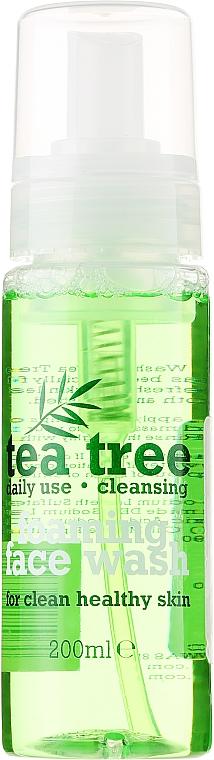 Gesichtsreinigungsschaum mit Teebaum - Xpel Marketing Ltd Tea Tree Foaming Face Wash