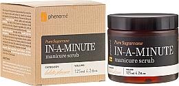 Düfte, Parfümerie und Kosmetik Handpeeling mit Mandel- und Macadamiaöl - Phenome Pure Sugarcane In-A-Minute Manicure Scrub