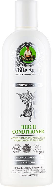 Birken-Haarspülung Feuchtigkeit und Balance - Rezepte der Oma Agafja White Agafia Birch Conditioner