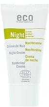 Düfte, Parfümerie und Kosmetik Schützende Nachtcreme mit Granatapfel und Ginseng - Eco Cosmetics- Eco Cosmetics