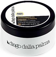 Düfte, Parfümerie und Kosmetik Intensiv nährende Haarmaske für trockenes und sprödes Haar - Diego Dalla Palma Saniprincipi Nourishing Mask