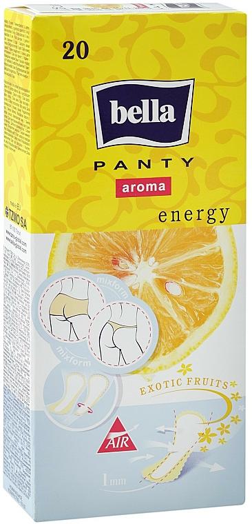 Slipeinlagen Panty Aroma Energy Exotic Fruits 20 St. - Bella