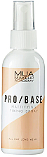 Düfte, Parfümerie und Kosmetik Mattierender Make-up-Fixierer - MUA Pro Base Mattifying Fixing Spray