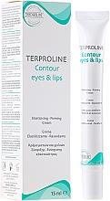 Düfte, Parfümerie und Kosmetik Anti-Aging Augen- und Lippencreme - Synchroline Aknicare Terproline Contour Eyes & Lips