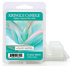 Düfte, Parfümerie und Kosmetik Duftwachs Agave Pastel - Kringle Candle Agave Pastel Wax Melt