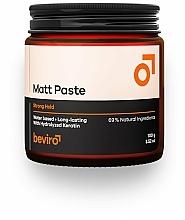 Düfte, Parfümerie und Kosmetik Mattierende Haarpaste mit Keratin starker Halt - Beviro Matt Paste Strong Hold