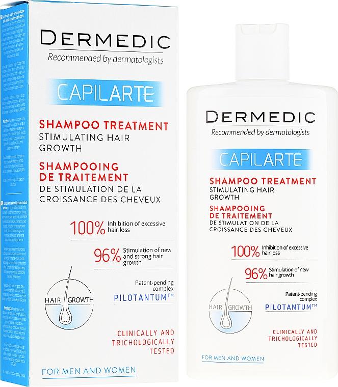 Shampoo-Kur zur Stimulierung des Haarwachstums - Dermedic Capilarte Shampoo