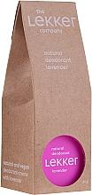 Düfte, Parfümerie und Kosmetik Natürliches Creme-Deodorant mit Lavendel - The Lekker Company Natural Lavender Deodorant