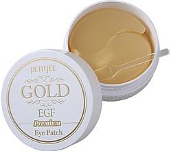 Düfte, Parfümerie und Kosmetik Hydrogel-Augenpatches mit Gold - Petitfee & Koelf Premium Gold & EGF Eye Patch
