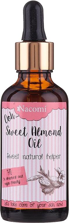 Süßmandelöl für den Körper - Nacomi Sweet Almond Oil — Bild N1