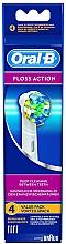 Düfte, Parfümerie und Kosmetik Austauschbare Zahnbürstenköpfe für elektrische Zahnbürste Floss Action EB 25 4 St. - Oral-B