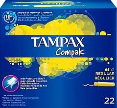 Düfte, Parfümerie und Kosmetik Tampons mit Applikator 22 St. - Tampax Compak Regular