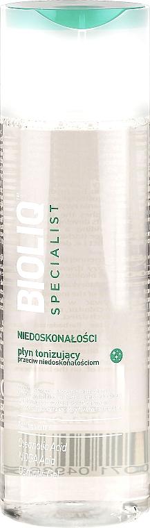 Gesichtswasser für Akne und unreine Haut - Bioliq Specialist Toning Water