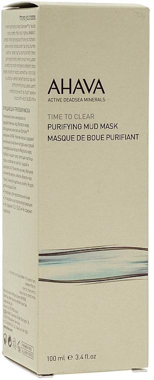 Reinigende und feuchtigkeitsspendende Gesichtsmaske mit Schlamm aus dem Toten Meer - Ahava Time To Clear Purifying Mud Mask — Bild N2