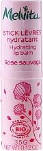 Düfte, Parfümerie und Kosmetik Feuchtigkeitsspendender Lippenbalsam - Melvita Rose Sauvage Moisturizing Lip Balm