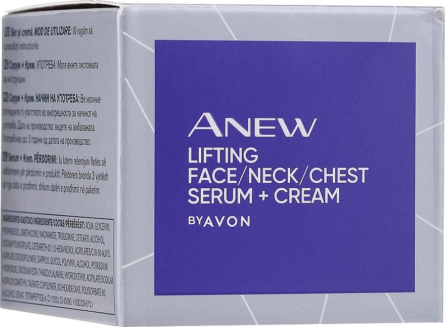 Serum für Gesicht, Hals und Dekolleté - Avon Anew Clinical Lift & Firm Pressed Serum