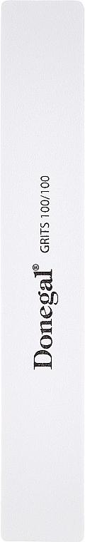 Breite doppelseitige Nagelfeile 9186 100/100 weiß 17,8 cm - Donegal — Bild N1