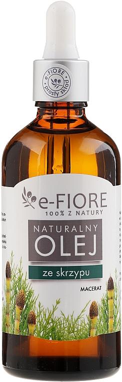 Natürliches Schachtelhalmöl - E-Flore Natural Horsetail Macerate Sunflower Oil