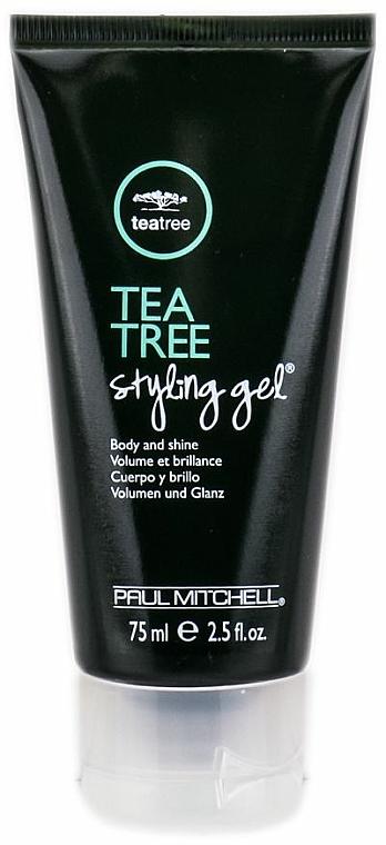 Erfrischendes Haarstylinggel mit Teebaumöl für mehr Volumen und Glanz Mittlerer Halt - Paul Mitchell Tea Tree Styling Gel — Bild N2