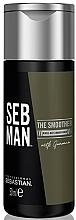 Düfte, Parfümerie und Kosmetik Feuchtigkeitsspendender Conditioner mit Guarana-Extrakt - Sebastian Professional Seb Man The Smoother