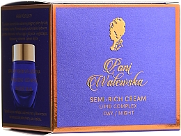 Düfte, Parfümerie und Kosmetik Halbfettige pflegende Gesichtscreme - Miraculum Pani Walewska Classic krem