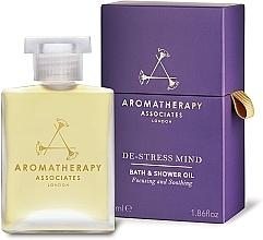 Düfte, Parfümerie und Kosmetik Beruhigendes und erfrischendes Anti-Stress Bade- und Duschöl - Aromatherapy Associates De-Stress Mind Bath & Shower Oil