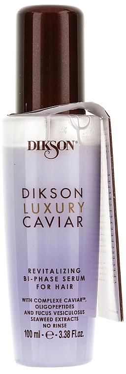 Revitalisierendes zweiphasiges Haarserum - Dikson Luxury Caviar Bi-Phasen Serum