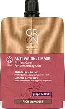 Düfte, Parfümerie und Kosmetik Anti-Falten Creme-Maske mit Trauben und Olive - GRN Rich Elements Grape & Olive Cream Mask