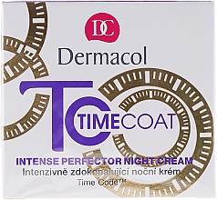 Düfte, Parfümerie und Kosmetik Pflegende Nachtcreme - Dermacol Time Coat Intense Perfector Night Cream
