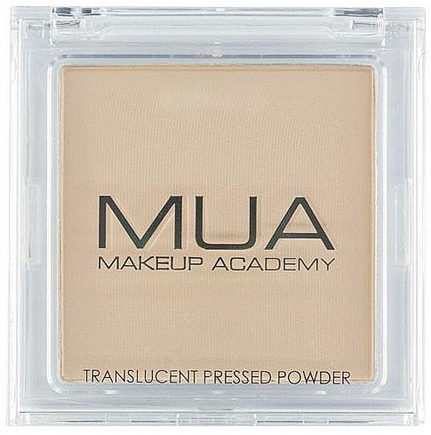 Transparenter Kompaktpuder - MUA Translucent Pressed Powder