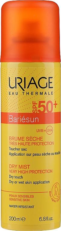 Trockener Sonnenschutznebel für Gesicht und Körper SPF 50+ - Uriage Bariesun Dry Mist SPF 50+