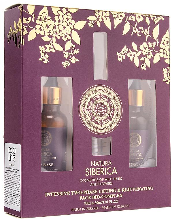 Gesichtspflegeset - Natura Siberica Anti-Age (Make-up Base/30ml + Serum/30ml)