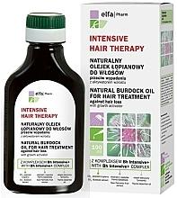 Düfte, Parfümerie und Kosmetik Intensive Behandlung mit Klettenöl gegen Haarausfall und zum Wachstum - Elfa Pharm Burdock Oil