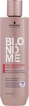 Düfte, Parfümerie und Kosmetik Reichhaltiges regenerierendes Shampoo für blonde Haare bei allen Haartypen - Schwarzkopf Professional Blondme All Blondes Rich Shampoo