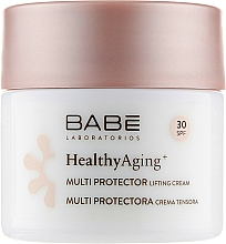 Düfte, Parfümerie und Kosmetik Liftingcreme für den Tag mit DMAE und SPF 30 - Babe Laboratorios Healthy Aging Multi Protector Lifting Cream