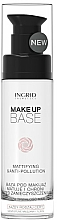 Düfte, Parfümerie und Kosmetik Mattierende Make-Up Base - Ingrid Cosmetics Make-up Base Mattifying & Anti-Pollution