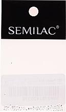 Düfte, Parfümerie und Kosmetik Nageldekorationen Silberquadrate - Semilac Nailart 763