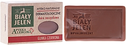 Düfte, Parfümerie und Kosmetik Dermatologische Seife mit roter Tonerde - Bialy Jelen Apteka Alergika Soap