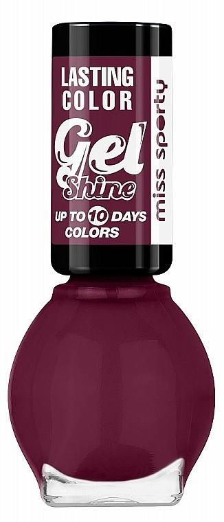 Nagellack - Miss Sporty Lasting Colour Gel Shine Nail Polish