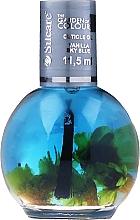 Düfte, Parfümerie und Kosmetik Nagel- und Nagelhautöl himmelblaue Vanille - Silcare The Garden Of Colour Vanilla Sky Blue