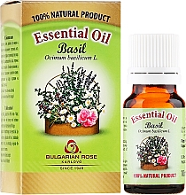 Düfte, Parfümerie und Kosmetik Ätherisches Bio Basilikumöl - Bulgarian Rose Basil Essential Oil