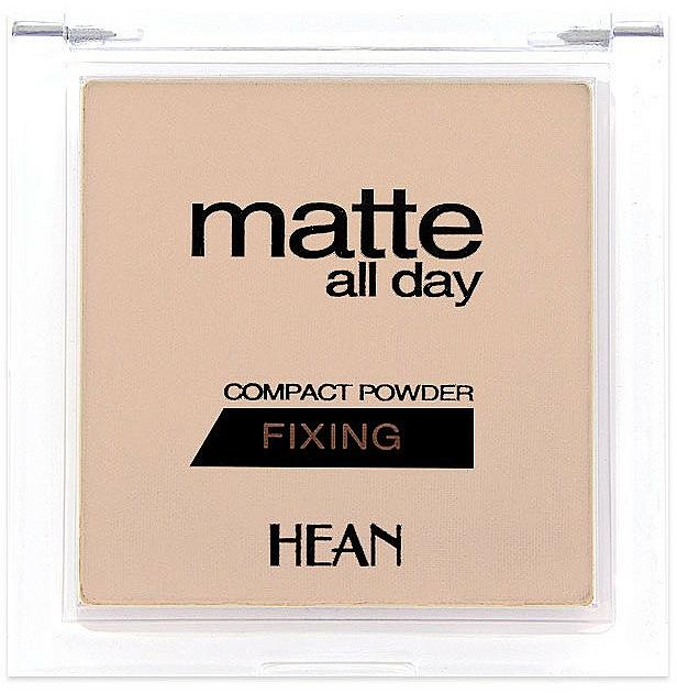 Fixierender Kompaktpuder - Hean Matte All Day Compact Powder